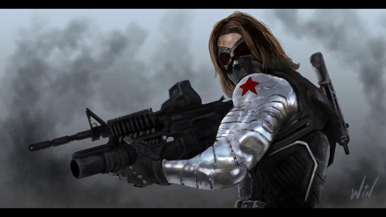 The Winter Soldier Fan Art ( How I Fixed My Art! )