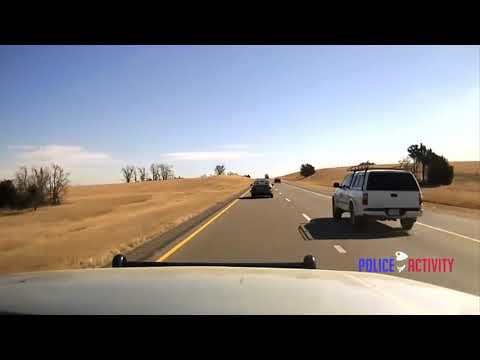 Raw Video: VERY INTENSE High Speed Chase Dash Cam Footage