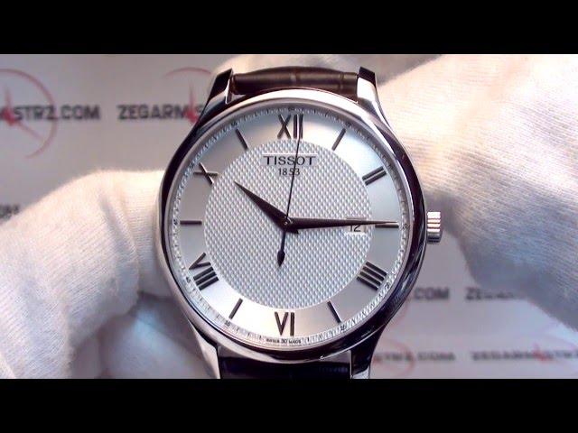 56f5053b2b7 (VIDEO Review) Tissot Men s T0636101603800 Tradition Analog Display Swiss  Quartz Brown Watch