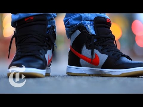 Sneaker Addiction on Arthur Avenue, Bronx | Intersection | The New York Times