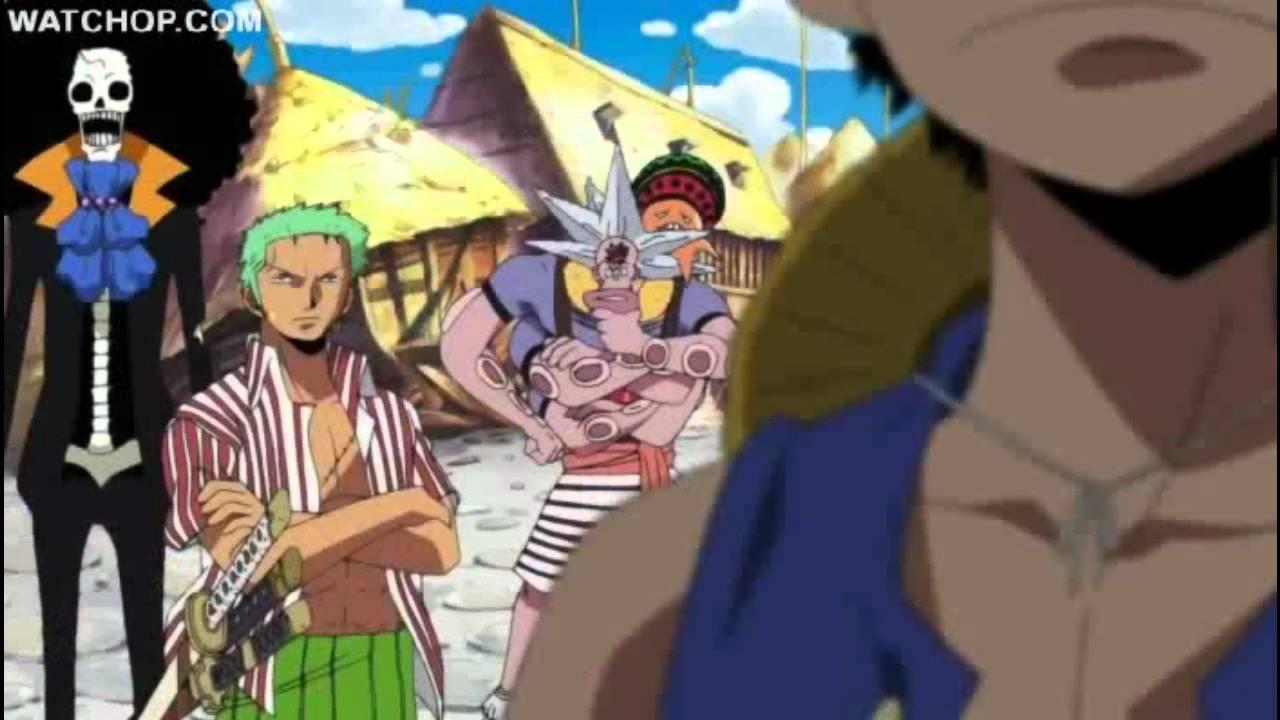 Pertama adalah di awal chapter one piece di mana shanks merelakan sebagian. One Piece Luffy Vs Motobaro First Time Haki