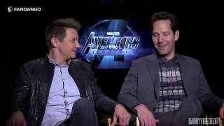 AVENGERS ENDGAME CAST: FUNNIEST MOMENTS [PART 5/5]