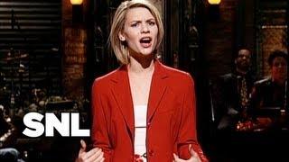 Claire Danes Monologue - Saturday Night Live