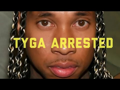 Tyga arrested Bail $50,000