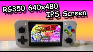 RG350 Replace with RG350M 640x480 IPS Screen (Tutorial)