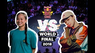 Red Bull BC One B-Girl World Final | Top 8: Sunny (USA) vs. Narumi (JP)