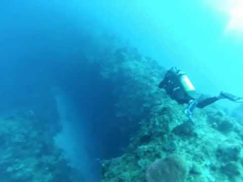 Diving Turks and Caicos Islands:  Our First Look Over the Wall