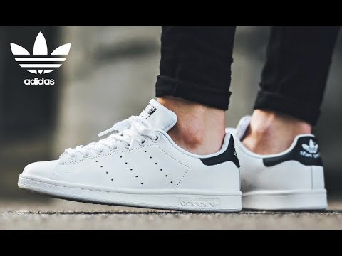 Adidas Stan Smith New Navy + On Feet - YouTube
