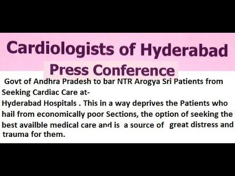LIVE | Cardiologist of Hyderabad Press Conference | hybiz