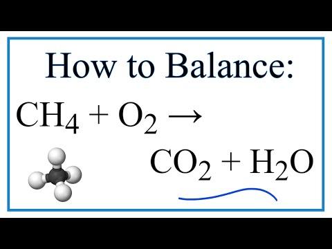 CH4 + O2 = CO2  +  H2O |  Balanced Equation (Methane Combustion Reaction)