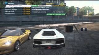 How to get the Lamborghini Aventador Need For Speed Most Wanted