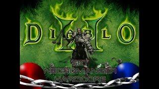 Diablo 2 Zy-El mod HARDCORE Часть 1 (с 1-10) Некромант - на грани жизни и смерти.