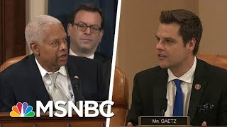 Rep. Hank Johnson: Rep. Gaetz