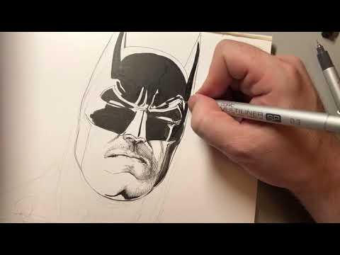LET US DRAW BATMAN