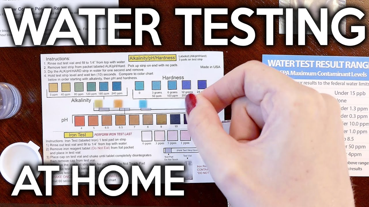 Water Testing Kit Tutorial For Test Assured How To Test
