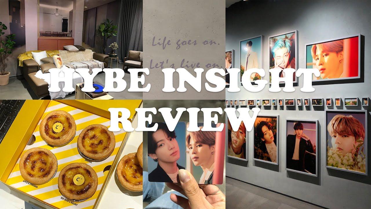 (ENG/KOR SUB) BTS HYBE INSIGHT REVIEW 하이브 인사이트 뮤지엄 방문 후기 (관람팁, 굿즈, 포토티켓, 사진)