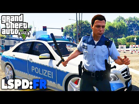 GTA 5 LSPD:FR - DEMONSTRATION! - Deutsch - Polizei Mod #42 Grand Theft Auto V