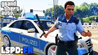 GTA 5 LSPD:FR - DEMONSTRATION! - Deutsch - Polizei Mod #42 Grand Theft Auto V
