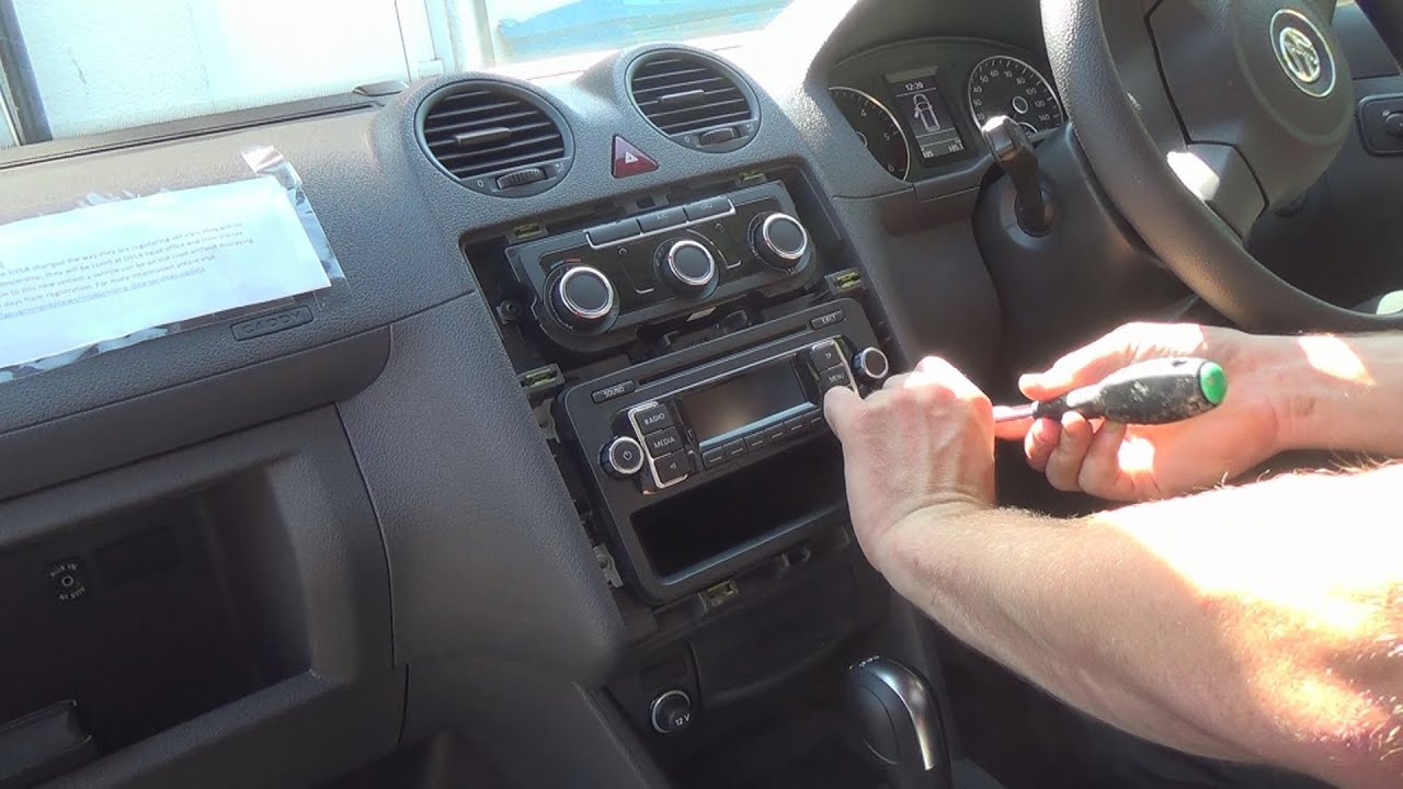 radio removal volkswagen caddy   justaudiotips