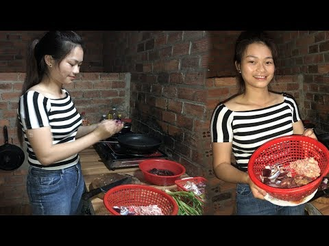How to prepare a delicious dish from chicken intestines