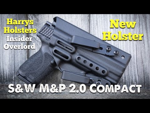 """NEW HOLSTER - S&W M&P 2.0 Compact - Harry's Holster """"Insider Overlord"""""""