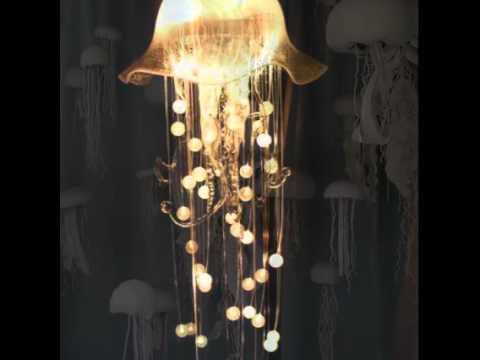 Watch World Best Jellyfish Led Chandelier In Sea