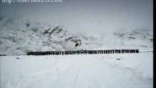 Indian army in Siachen(with national anthem)