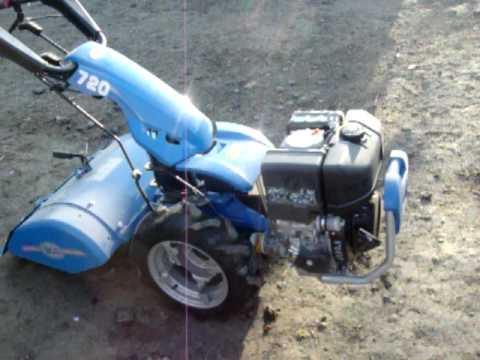 Bcs 720 lombardini 15ld350 youtube for Motocoltivatore bcs 720