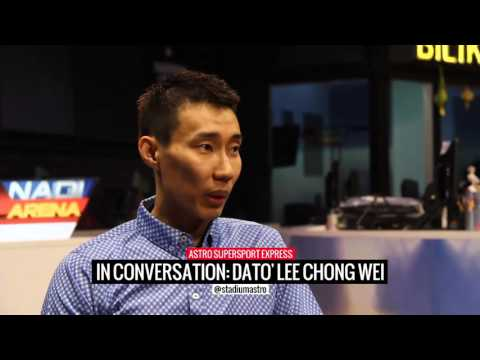 Lee Chong Wei Interview | Express | Astro SuperSport