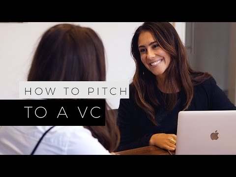 How To Pitch To A VC