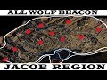 Hidden unmarked Wolf Beacon location