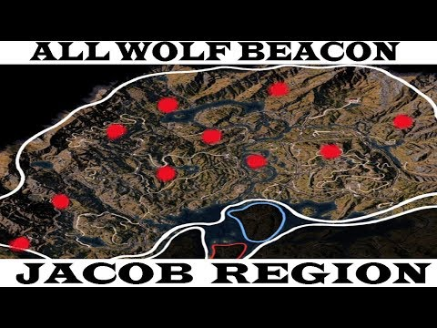 Hidden Unmarked Wolf Beacon Location Youtube
