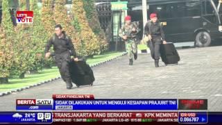 Panglima TNI Sidak Kesatuan Elite TNI