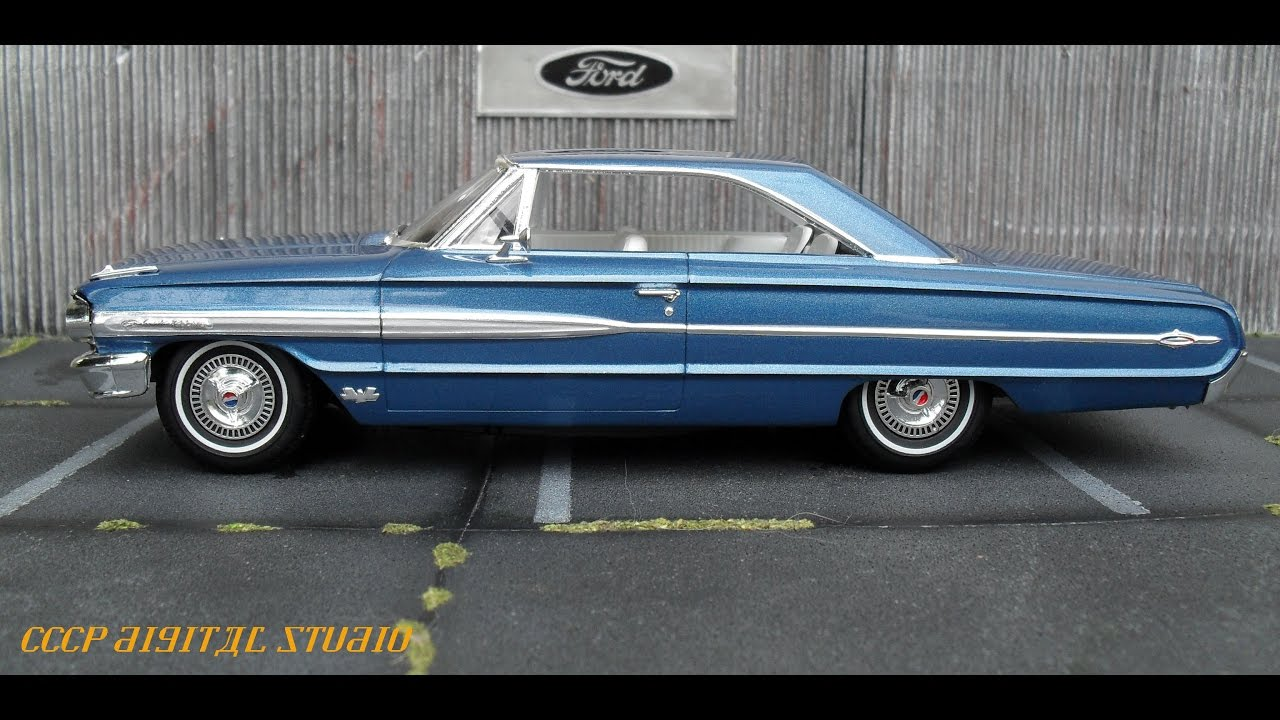 built kit review 1964 ford galaxie 500 xl youtube. Black Bedroom Furniture Sets. Home Design Ideas