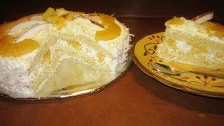 Pastel Tres Leches Con Relleno Tropical 2da.pte. - Aleliamada.