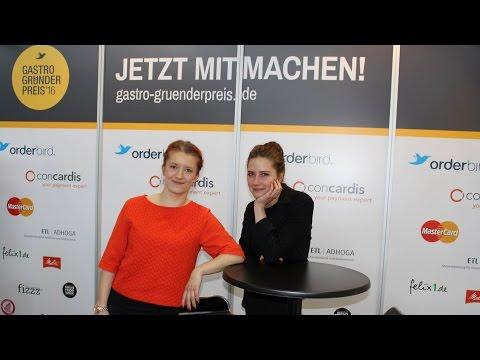 Gastro-Gründerpreis ON TOUR - Stullenbüro und Haferkater auf der INTERGASTRA