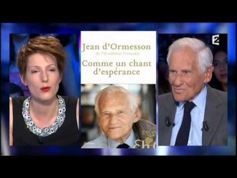 Jean d'Ormesson On n'est pas couché 14 juin 2014 #ONPC