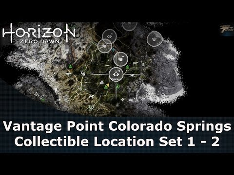 Horizon Zero Dawn Vantage Point Colorado Springs Collectible Location Set 1 - 2