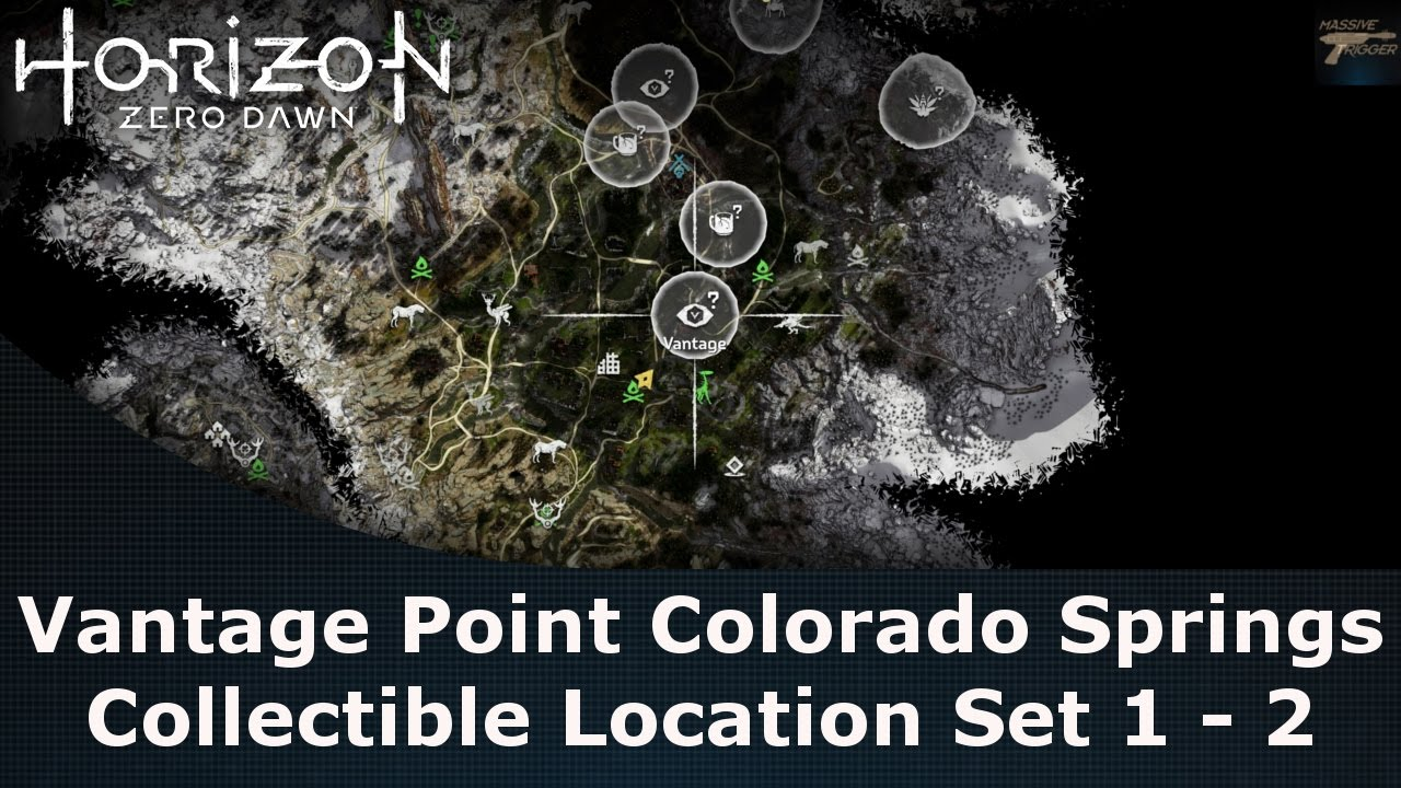 Horizon Zero Dawn Vantage Point Colorado Springs Collectible