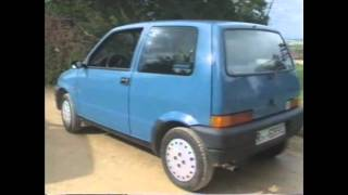 Old Top Gear 1992 - Fiat Cinquecento