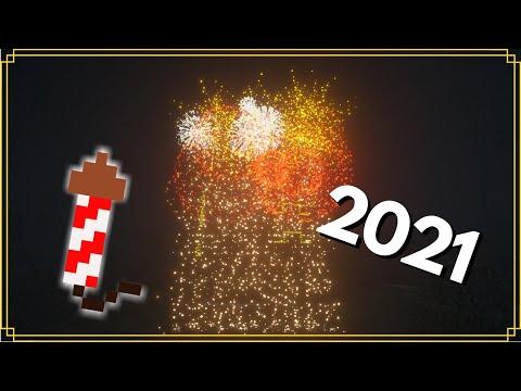 Minecraft: Huge Firework Display (Tutorial)