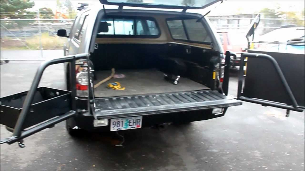 Toyota Tacoma Outdoorsman Bumpers Youtube