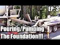 Dream Garage Build Episode 3: Pouring the footer and foundation!