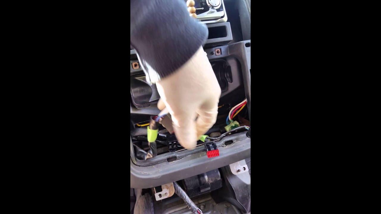 2005 Ford Explorer heat a/c clicking sound inside