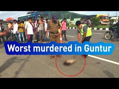 Breaking News : Brutal Murder On Highway Of Guntur  - Express TV
