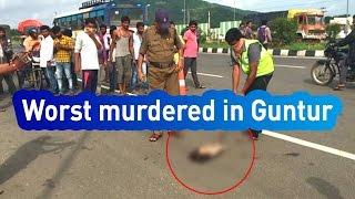 Download Video Breaking News : Brutal Murder On Highway Of Guntur  - Express TV MP3 3GP MP4