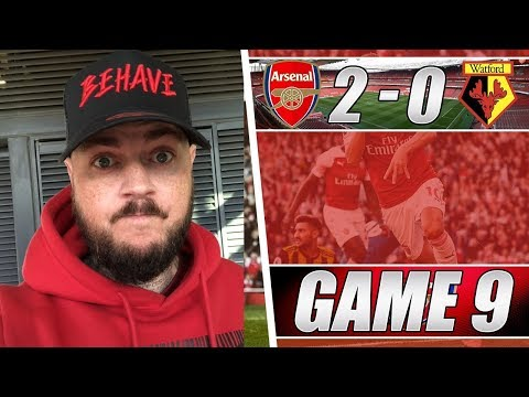 Arsenal 2 v 0 Watford - We Did Not Deserve That - Matchday Vlog