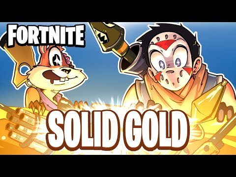 FORTNITE BR  SOLID GOLD! NEW GAME MODE! Duo Vs Squads!