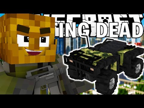 TAKE THE ATVS AND RUN! - MINECRAFT FEAR THE CRAFTING DEAD S.2 E.2