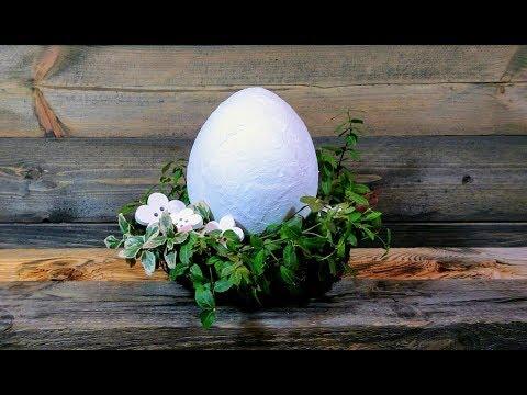 Stroik Z Wielkim Jajem Stroik Wielkanocny Youtube